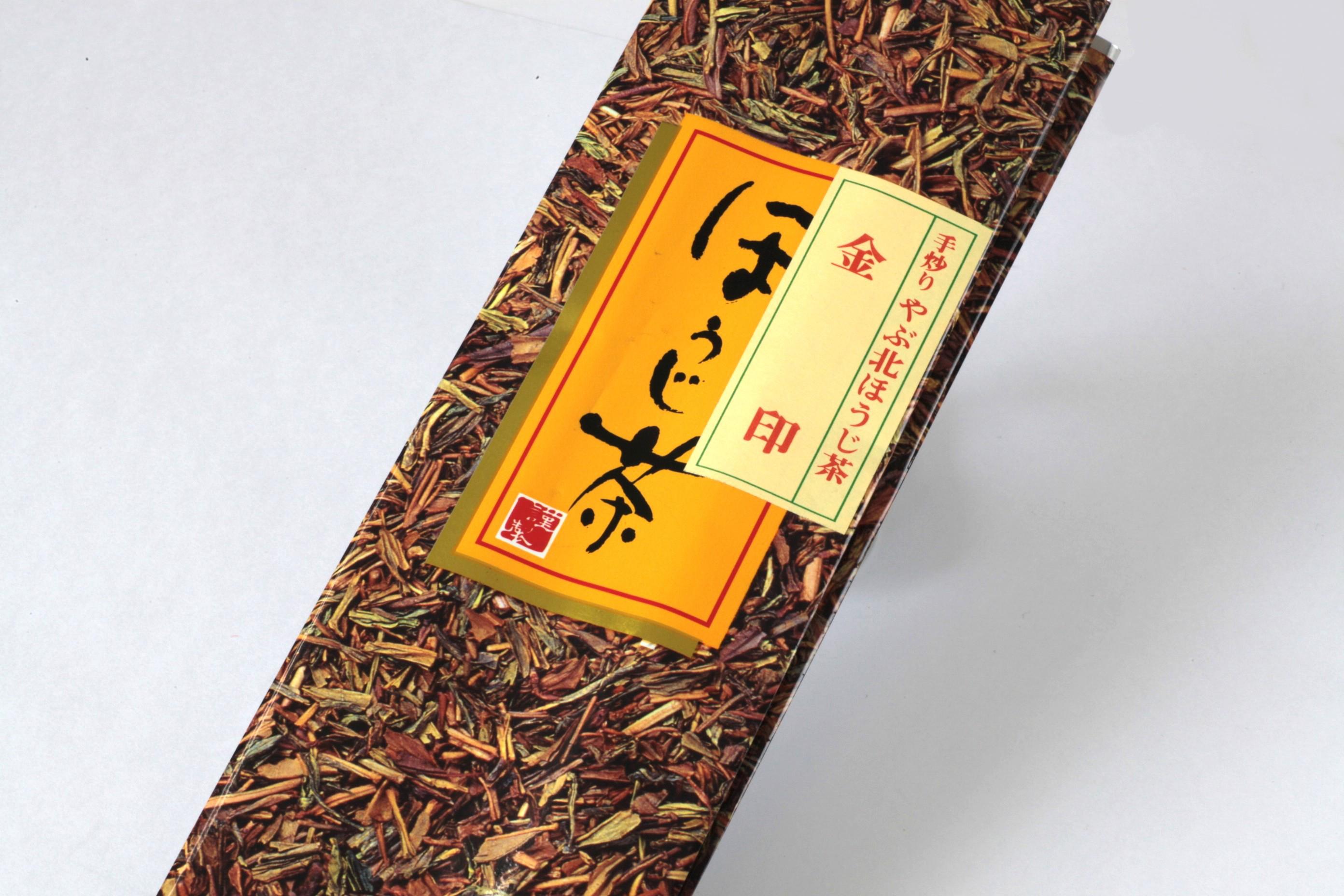 ほうじ茶 金印 100gアルミ袋(真空パック入)