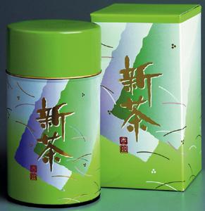 やぶ北 八十八夜深蒸し新茶 150g缶入(包装デザインが変わる場合があります)
