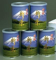 やぶ北 八十八夜深蒸し新茶 100gx5缶詰合せ