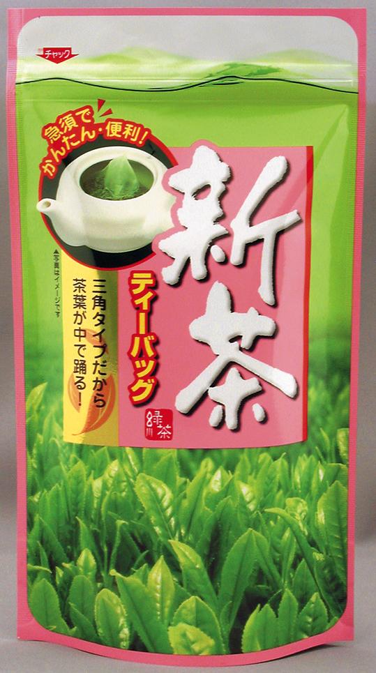 八十八夜新茶ティーバック5gx10袋(アルミ袋入)茶袋デザインが変更する場合があります